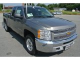 2013 Graystone Metallic Chevrolet Silverado 1500 LT Extended Cab 4x4 #82732308