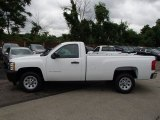 2013 Summit White Chevrolet Silverado 1500 Work Truck Regular Cab #82732501