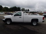 2013 Summit White Chevrolet Silverado 1500 Work Truck Regular Cab #82732499