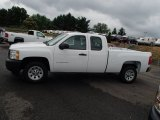 2013 Summit White Chevrolet Silverado 1500 Work Truck Extended Cab #82732497