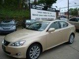 2008 Golden Almond Metallic Lexus IS 250 AWD #8252370