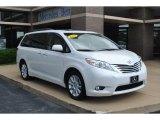 2011 Super White Toyota Sienna Limited #82732175
