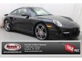 2008 Black Porsche 911 Turbo Coupe #82732063