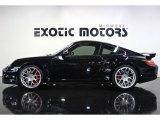 2007 Black Porsche 911 Turbo Coupe #82732466