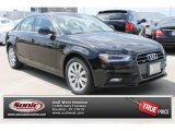 2013 Brilliant Black Audi A4 2.0T quattro Sedan #82732058