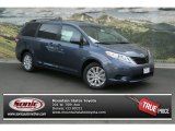2013 Shoreline Blue Pearl Toyota Sienna LE AWD #82731706
