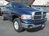 2004 Atlantic Blue Pearl Dodge Ram 1500 ST Quad Cab 4x4 #82732166