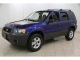 2006 Ford Escape Sonic Blue Metallic