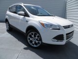 2014 White Platinum Ford Escape Titanium 2.0L EcoBoost #82732031