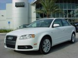 2008 Ibis White Audi A4 2.0T Special Edition Sedan #824999