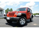 2011 Flame Red Jeep Wrangler Sport 4x4 #82790931