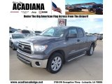 2011 Magnetic Gray Metallic Toyota Tundra Double Cab #82790614