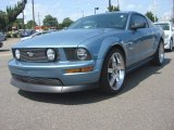 2007 Windveil Blue Metallic Ford Mustang GT Premium Coupe #82791131