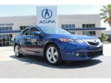 2009 Vortex Blue Pearl Acura TSX Sedan #82790366