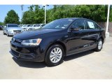2013 Deep Black Pearl Metallic Volkswagen Jetta Hybrid SE #82790859