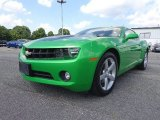 2010 Synergy Green Metallic Chevrolet Camaro LT Coupe Synergy Special Edition #82790420