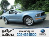 2006 Windveil Blue Metallic Ford Mustang V6 Premium Coupe #82790851