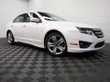 2011 White Suede Ford Fusion Sport #82846416