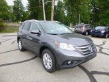 2013 Polished Metal Metallic Honda CR-V EX-L AWD #82846516