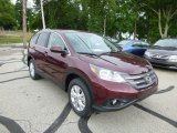 2013 Basque Red Pearl II Honda CR-V EX AWD #82846513