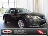 2013 Hematite Metallic Honda Accord EX-L Sedan #82845999