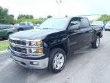 2014 Black Chevrolet Silverado 1500 LT Z71 Crew Cab 4x4 #82846705