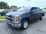 2014 Blue Granite Metallic Chevrolet Silverado 1500 LT Crew Cab #82846704