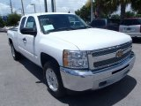 2013 Summit White Chevrolet Silverado 1500 LT Extended Cab 4x4 #82846703