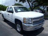 2013 Summit White Chevrolet Silverado 1500 LT Extended Cab #82846702