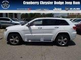 2014 Bright White Jeep Grand Cherokee Overland 4x4 #82846181