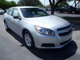 2013 Silver Ice Metallic Chevrolet Malibu LS #82846693