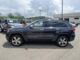 2014 True Blue Pearl Jeep Grand Cherokee Overland 4x4 #82846179
