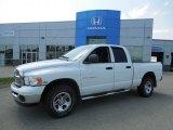 2004 Bright White Dodge Ram 1500 SLT Quad Cab 4x4 #82846486