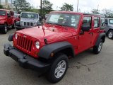2013 Jeep Wrangler Unlimited Flame Red