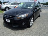 2012 Tuxedo Black Metallic Ford Focus Titanium 5-Door #82845972