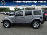 2013 Billet Silver Metallic Jeep Wrangler Unlimited Sahara 4x4 #82846173