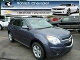 2013 Atlantis Blue Metallic Chevrolet Equinox LT AWD #82846581