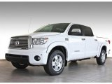 2013 Super White Toyota Tundra Limited CrewMax 4x4 #82846683