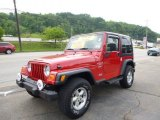 2001 Jeep Wrangler Flame Red