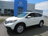 2013 White Diamond Pearl Honda CR-V EX-L AWD #82846479
