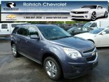 2013 Atlantis Blue Metallic Chevrolet Equinox LT AWD #82846578