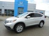 2013 Alabaster Silver Metallic Honda CR-V EX AWD #82846477