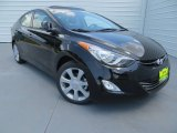 2013 Black Hyundai Elantra Limited #82846283