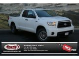 2013 Super White Toyota Tundra TRD Rock Warrior Double Cab 4x4 #82845951