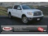 2013 Super White Toyota Tundra Platinum CrewMax 4x4 #82845950