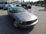 2007 Tungsten Grey Metallic Ford Mustang V6 Deluxe Coupe #82846362