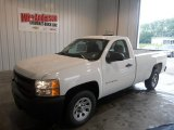 2013 Summit White Chevrolet Silverado 1500 Work Truck Regular Cab #82846644
