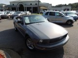 2007 Satin Silver Metallic Ford Mustang V6 Deluxe Convertible #82846359