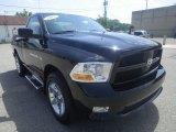 2012 Black Dodge Ram 1500 ST Regular Cab 4x4 #82846627