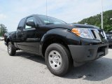 Super Black Nissan Frontier in 2013